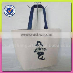 Cheap wholesale tote beach bag and polyester shoulder bags style hot sale