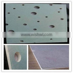 Perforated Suspended Gypsum Board Ceiling Plasterboard