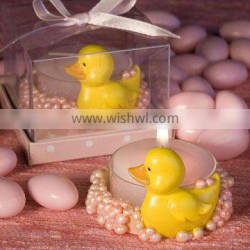 Newest yellow duck tealight holder Favors Baby party gifts and favors