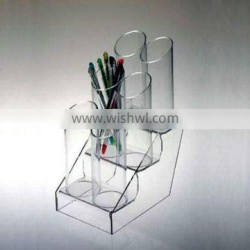 QCY-B-B040 factory directly sale high quality acrylic pen display/pen rack