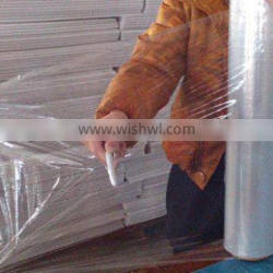 2012 newest ! raw material clear LLDPE stretch film for wrapping pallet