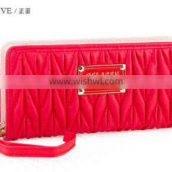 Hot Embroider purse , leather wallet ,women purse alibaba china cheap
