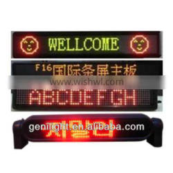 High Quality Factory Price LED Display Board for Taxi