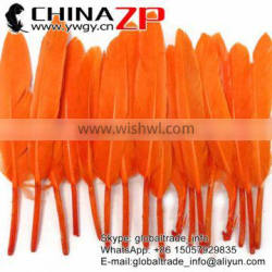 CHINAZP High Quality Plumes Orange Duck Cochettes Loose Feathers for Sale
