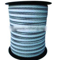 electric fence tape for chain link fences