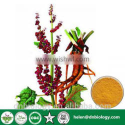 High quality Chrysophanol 98% CAS:481-74-3 Rhubarb Extract rheum officinale extract