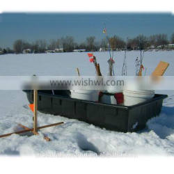 Heavy-Duty Plastic Sleds at A Cheap Price