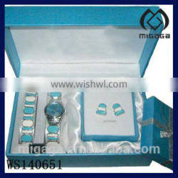 nice design jewelry set for display and jewelry show* bracelet watch earring gift set