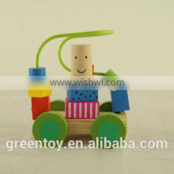 wooden train toy for baby