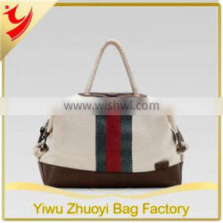 2014 Fashion Wholesale Quilted Sports Canvas Duffle Bags