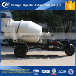 CLW tunnel dedicated agriculture use 1.5 cbm small 3 wheel concrete mixer truck with very low price