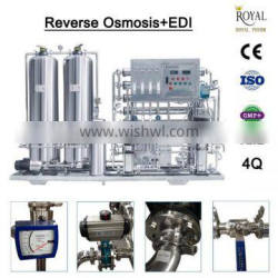 500L double stage reverse osmosis/reverse osmosis water treatment machine