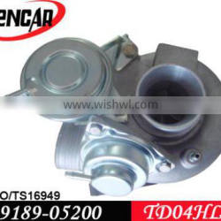 TD04 turbo for Volvo X-Country, V70, XC 70, S80, XC 90 with N2P25LT Engine 49189-05200