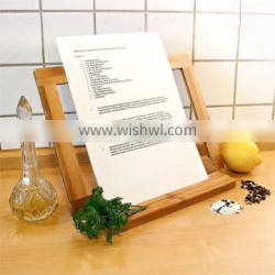 2015 new design Bamboo Cooking Book Stand 32 X 23.5 X 12 Cm book holder wholesale