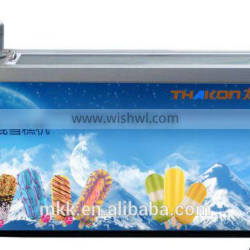 High performance milk ice lolly popsicle machine with 2 molds