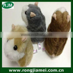 China wholesale soft toy plush hamster with repeat talking hamster