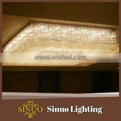 Modern led crystal light fixtures in china