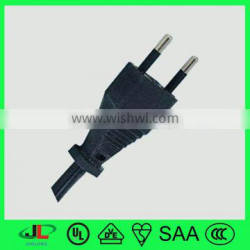 INMETRO flat electrical wire, brazil electrical connectors, ac power plug iec c8 inlet