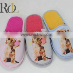 2016 wholesale cheapest shoe world women slipper shoes photo printed indoor slippers
