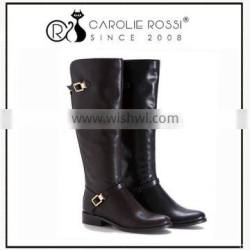 2016 shoe-box women leather military boots,army desert boots