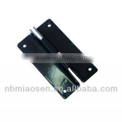 Silica sol casting hinge Painted black