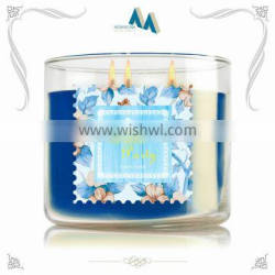 Artificial candles scented personalized