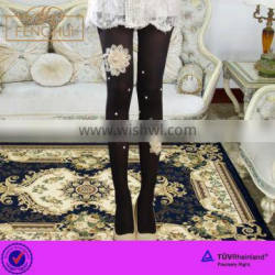 Yiwu fenghui Summer beautiful princess style jacquard women in pantyhose pictures pantyhose