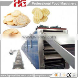 Fully automatic advanced production line of rice cake