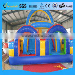 inflatable slide/inflatable slide for pool/inflatable double lane slip slide