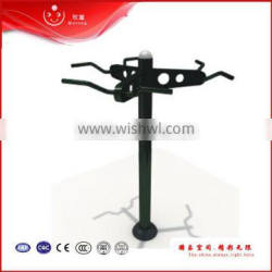 outdoor Triple pull up machine exercise and fitness equipment