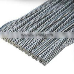 flat steel wire rope