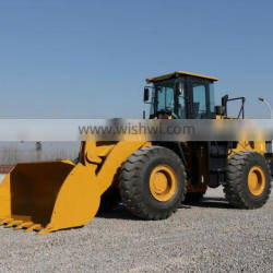 Sale promotion! Heavy 4WD SEM 655D 5 ton front wheel loader