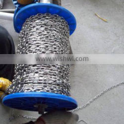 stainless steel link anchor small chain