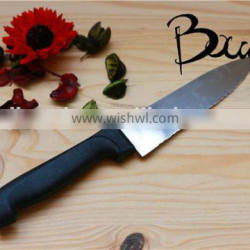 Soft handle good quality stainless steel chef knife/kitchen knife BD-K6669