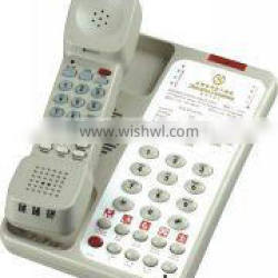 classical star hotel telephone for guestroom lobby bathroom phone message waiting light