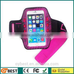 New arrival Lycra sport armband for iphone 6, for iphone 6 sports armband, OEM sports armband