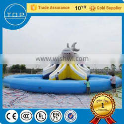 Multifunctional giant inflatable water slide for adult with CE certificate