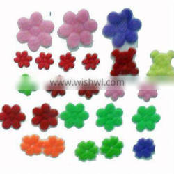 flower Fabric sticker for clothing