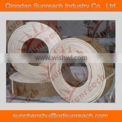 High quality woven brake lining roll with copper wire
