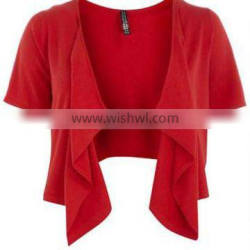 plus size Latest bolero top
