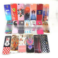 Tpu silicon rubber case for apple for sansumg compatible brand with any cartoon picture