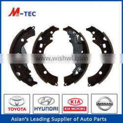 Hot Hino brake shoe manufacturing 04495-52120 process for Corolla
