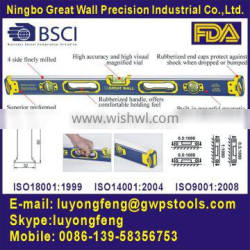 high accuracy spirit level 25B with powerful magnet insdie
