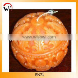 Carved Votive candle