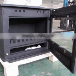 5mm Real flame fireplace glass