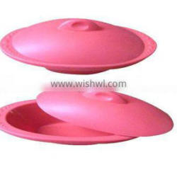 hot sell cheap portable heat resistance 100% food grade silicone steamer set of 2