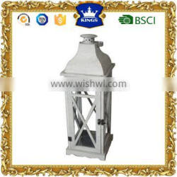 Normal style iron lanterns wooden made for home decoration
