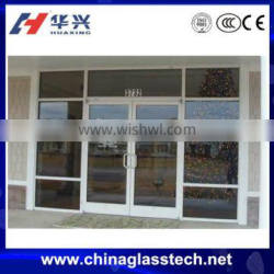 modern style thermal-break aluminum tempered glass front door