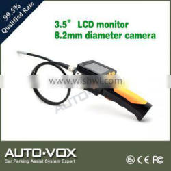 8.2mm sewer inspection camera with 3.5 inch monitor