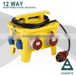 Waterproof of electrical combined box power distribution box IP67 12Way